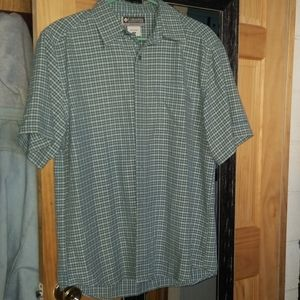 Mens columbia button up